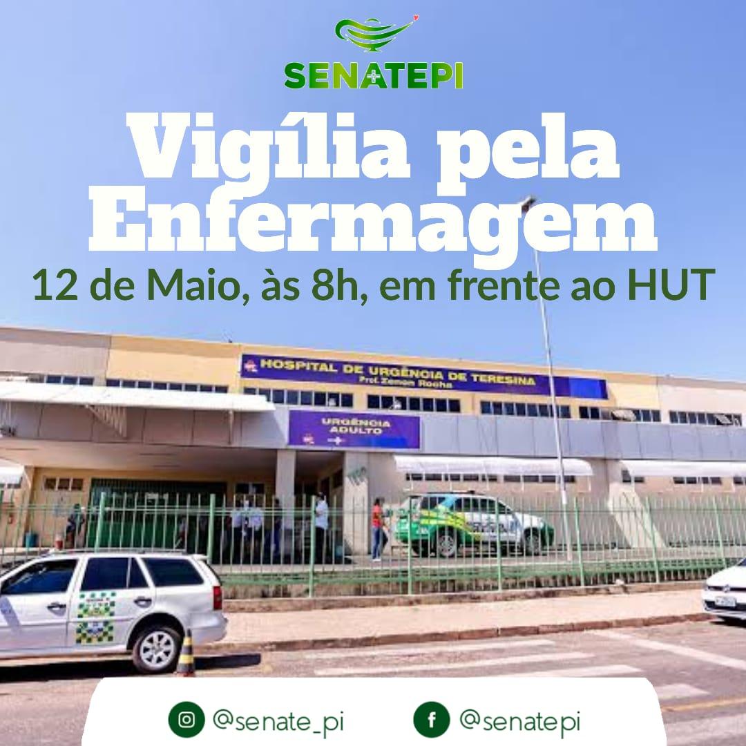 SENATEPI realiza Vigília pela Enfermagem