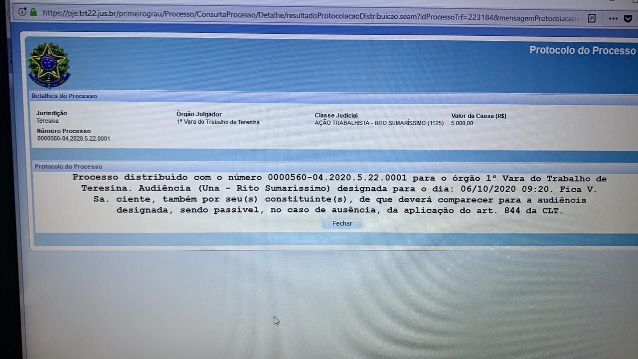 SENATEPI cobra manutenção da insalubridade por parte da FMS e o caso está na Justiça